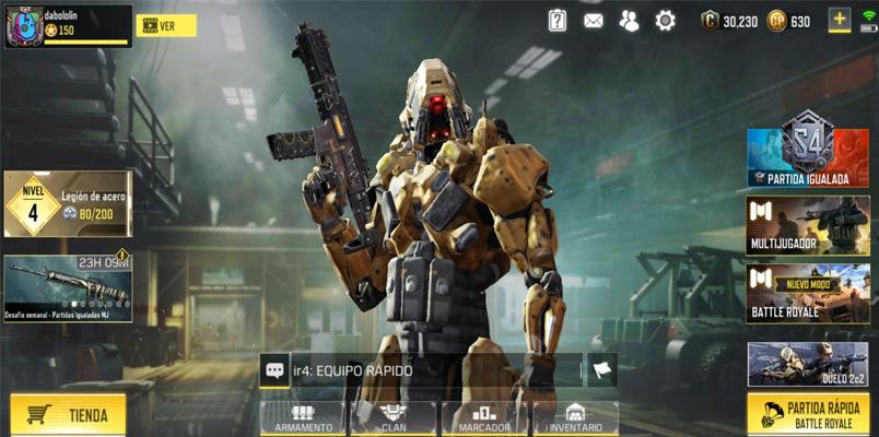 Call of Duty: Mobile Temporada 5: Steel Legion ya está disponible