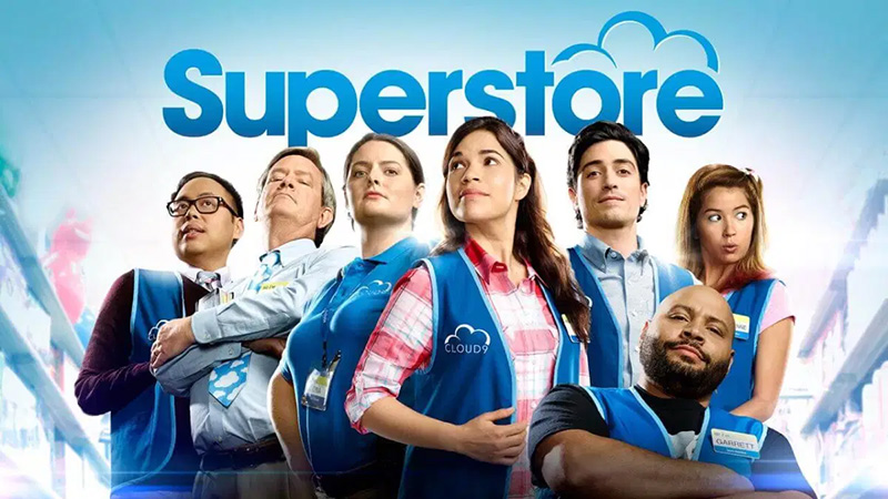Superstore Prime Video abril de 2020