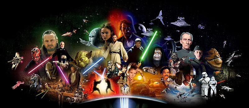Todas Star Wars Prime Video