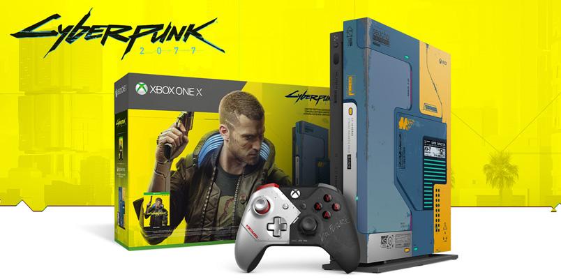 Xbox y Cyberpunk 2077 se unen para lanzar consola y accesorios