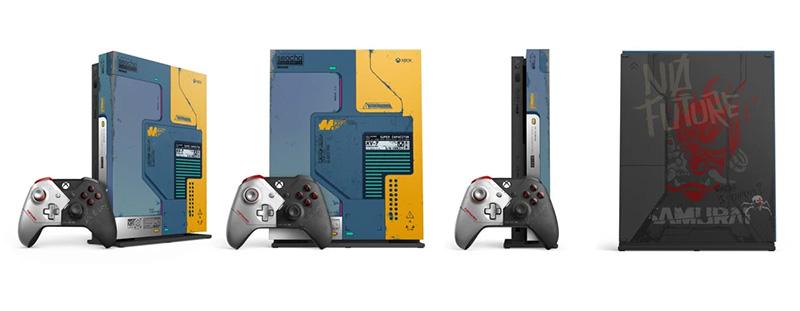 Xbox One edicion limitada Cyberpunk 2077