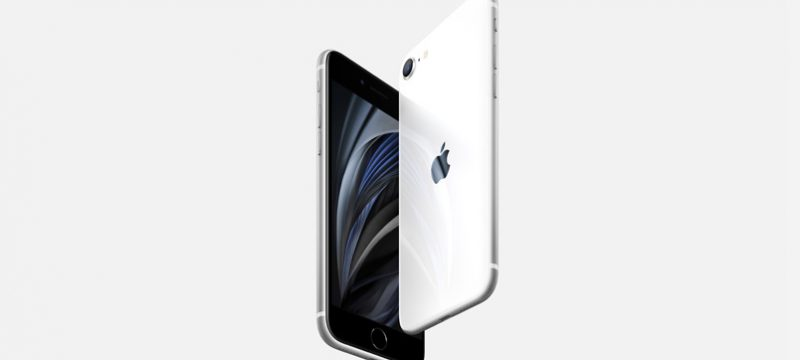 iPhone SE 2020 blanco