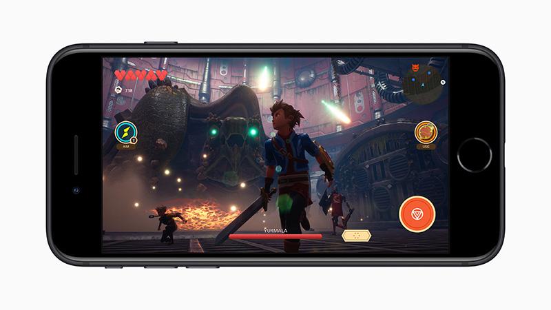 iPhone SE 2020 juegos