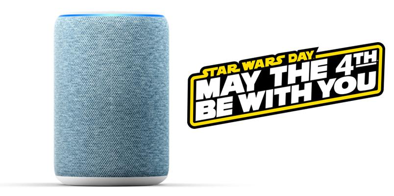 Con ayuda de Alexa conoces más sobre Star Wars y May the 4th