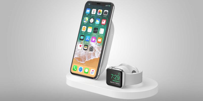 Los accesorios Belkin para cargar rápidamente un iPhone o iPad