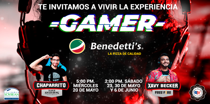 Benedetti's Pizza te invita a las sesiones de Chaparrito y Xavy Becker