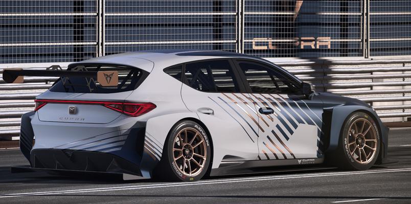 CUPRA e-Racer se renueva y ahora ofrece más potencia
