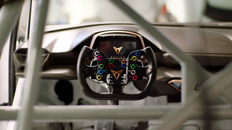 CUPRA e-Racer 2020 volante