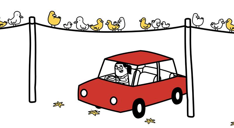 Ford protege la pintura de sus autos de la caca de los pájaros