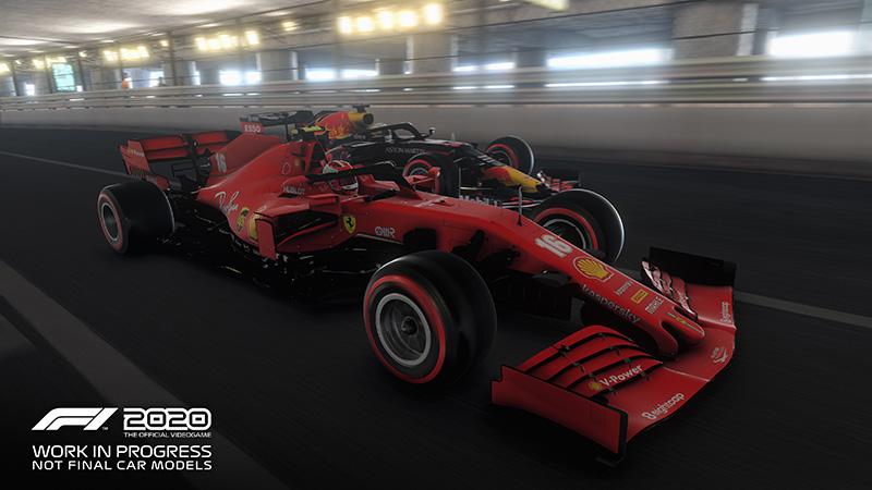 F1 2020 Monaco Hot Lap tunel