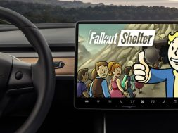Fallout Shelter Tesla Model 3