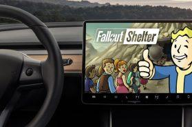 Fallout Shelter Tesla Model 3