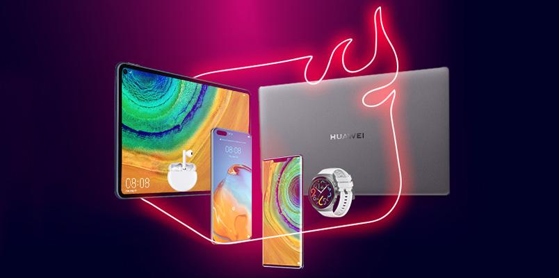 Huawei tiene increíbles descuentos durante el Hot Sale 2020