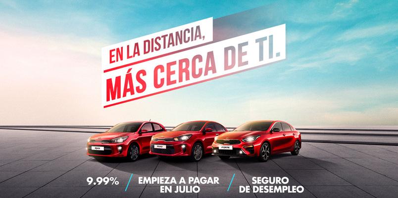 Las promociones que KIA Motors México tiene en el mes de mayo 2020