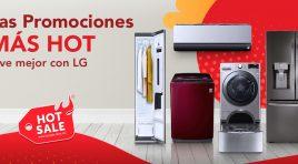 LG Electronics cierra el Hot Sale 2020 con increíbles descuentos