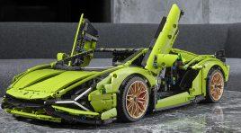 Así es el increíble Lamborghini Sián FKP 37 de LEGO Technic