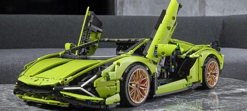 Lamborghini Sián FKP 37 de LEGO Technic