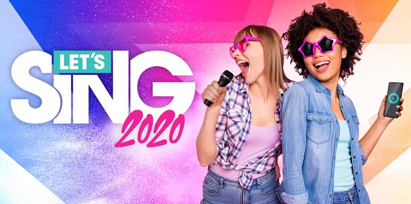 Las 30 canciones que podrás cantar en el juego Let's Sing 2020
