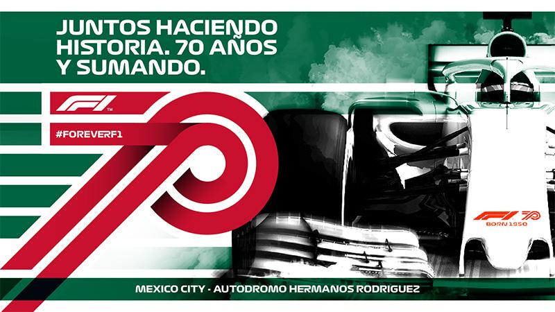 Mexico 70 aniversario F1