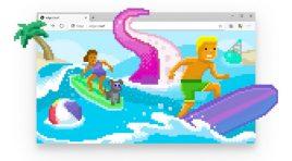 Surf Game, el juego de Microsoft Edge es mejor que el Dinosaurio