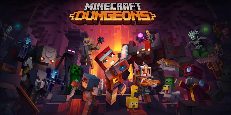 Minecraft Dungeons, la nueva aventura Minecraft ya está lista