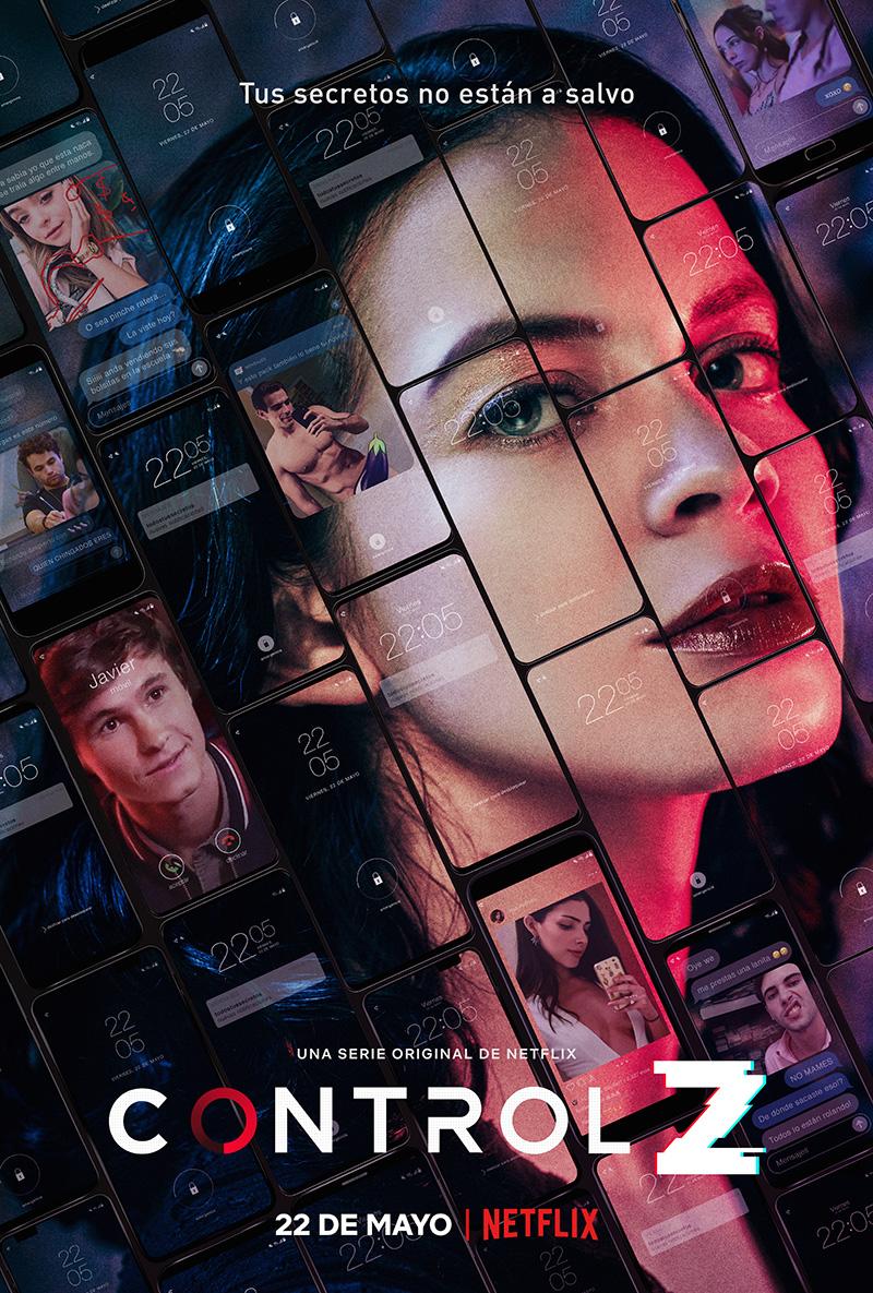 Netflix Control Z poster