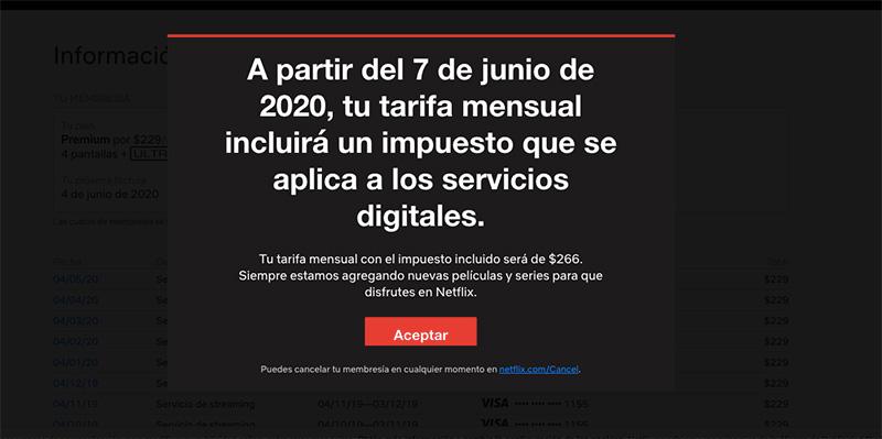Netflix IVA 2020