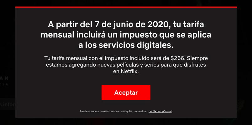 Estos son los nuevos precios de Netflix en México por el IVA