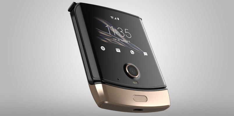 Motorola Razr Blush Gold ya está llegando a AT&T en México