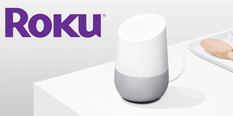 Roku Google Assistant