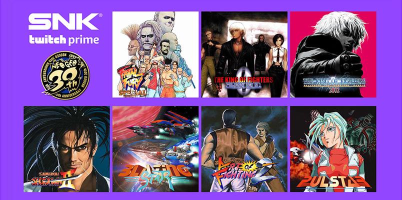 Twitch Prime te regala 20 juegos clásicos de SNK Corporation