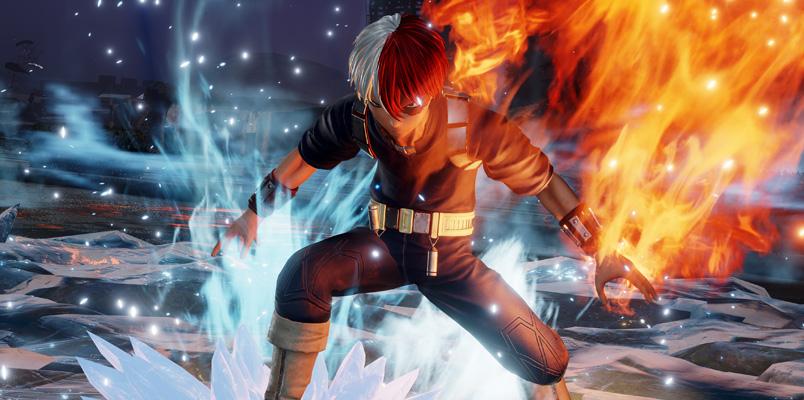 Shoto Todoroki será el nuevo peleador para Jump Force