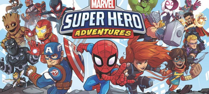 Super Hero Adventure Marvel HQ