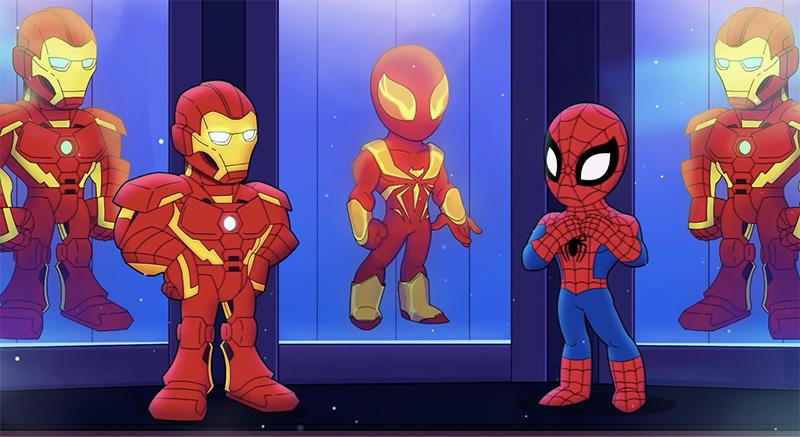 Super Hero Adventure Marvel HQ Spider-Man