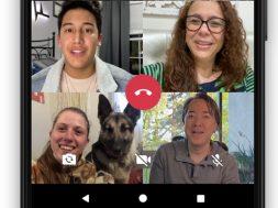 WhatsApp 8 familiares videollamada