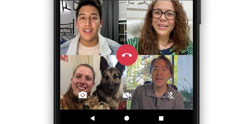 WhatsApp permite llamadas grupales con hasta 8 amigos