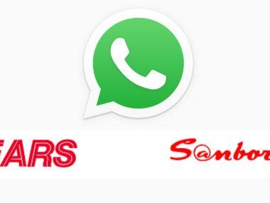 WhatsApp Sears -Sanborns