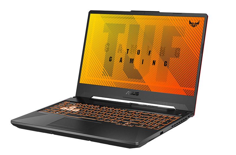 ASUS TUF A15 FA506IV Bonfire Black teclado