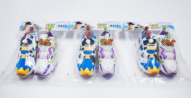 BAIT x Toy Story x Reebok Instapump Fury bolsa