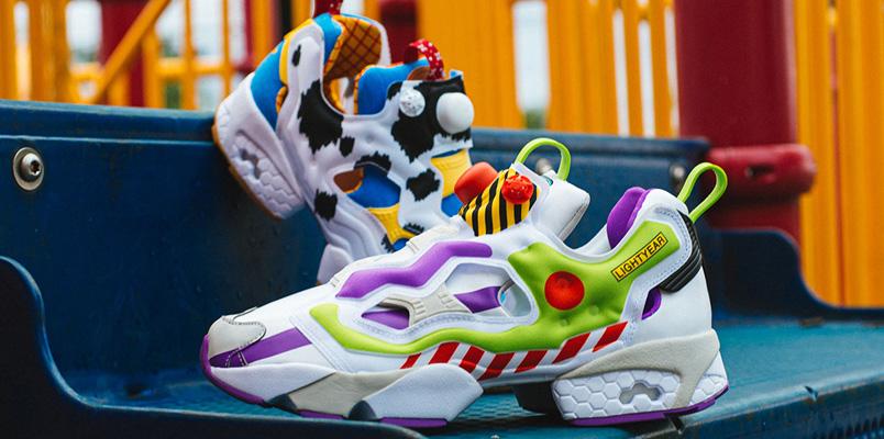 Los BAIT x Toy Story x Reebok Instapump Fury que salen pronto