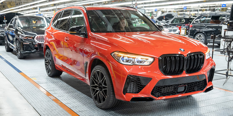 BMW Manufacturing celebra 5 millones de vehículos fabricados