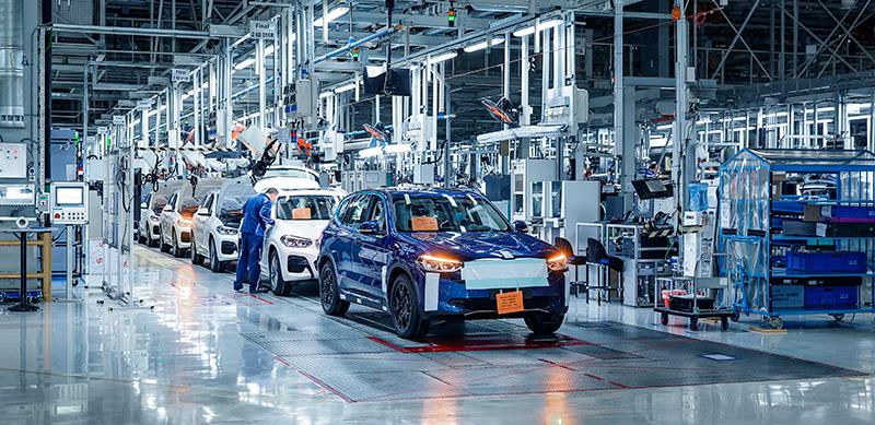 BMW iX3 planta