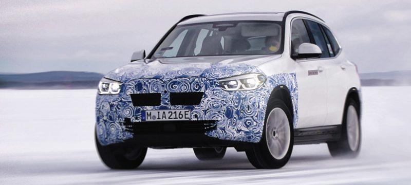 BMW iX3 pruebas