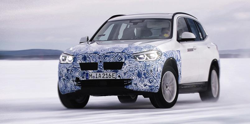 La producción del eléctrico BMW iX3 iniciará muy pronto en China