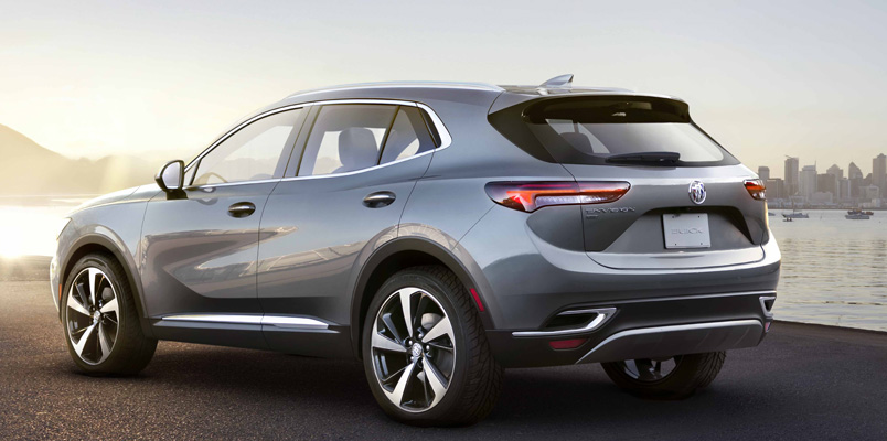 Buick Envision 2021 atras