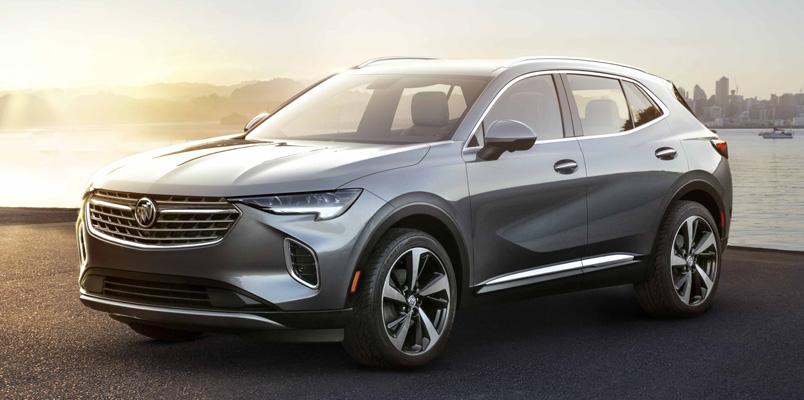 Buick Envision 2021 llegará con muchas tecnologías de seguridad