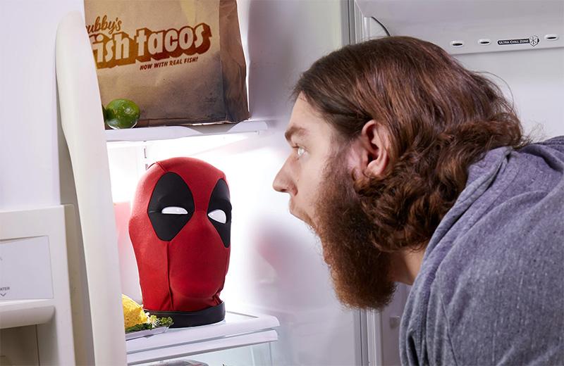 Cabeza de Deadpool Marvel Legends Mexico