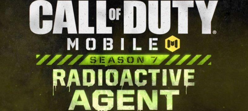 Call of Duty Mobile Temporada 7 Agente Radioactivo