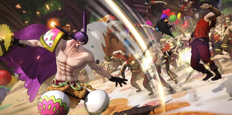Charlotte Cracker One Piece Pirate Warriors 4 espada