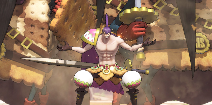 Charlotte Cracker ahora peleará en One Piece: Pirate Warriors 4